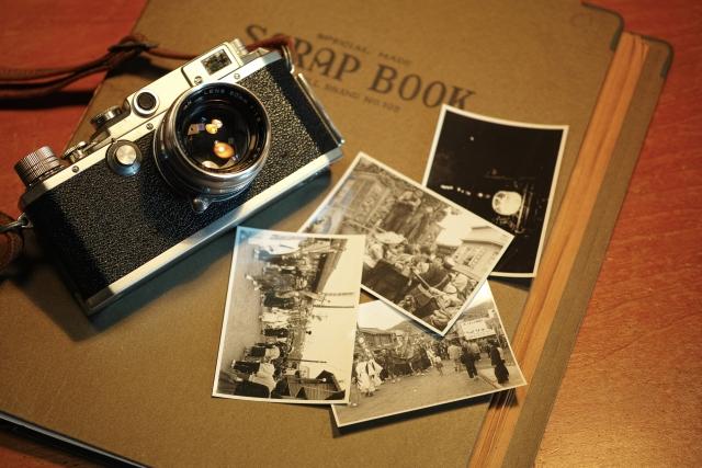古い写真とカメラ