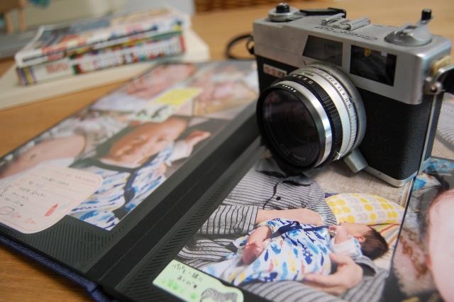 写真をアルバムに整してみた