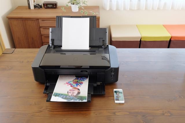 プリンターで印刷